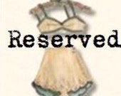Reserved Custom Listing for Allison - Rush