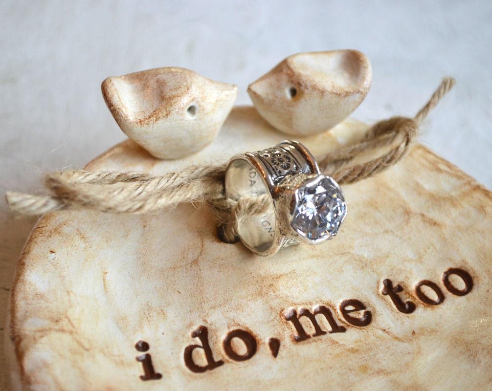 Wedding Ring Dish 42 Fancy Polymer clay wedding rings