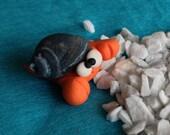 Hermit Crab - Paguro Bernardo (No 11) - A Little Polymer Clay Creation