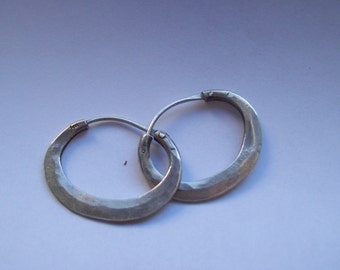 OVAL CAMPANELLE - Silver Earrings