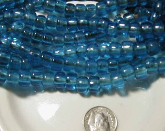 Blue African Padre Beads - 20 pcs.