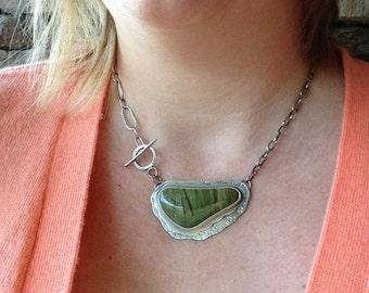 Lizard jasper necklace