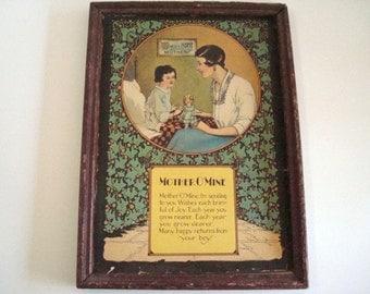 Vintage Mother O Mine Print