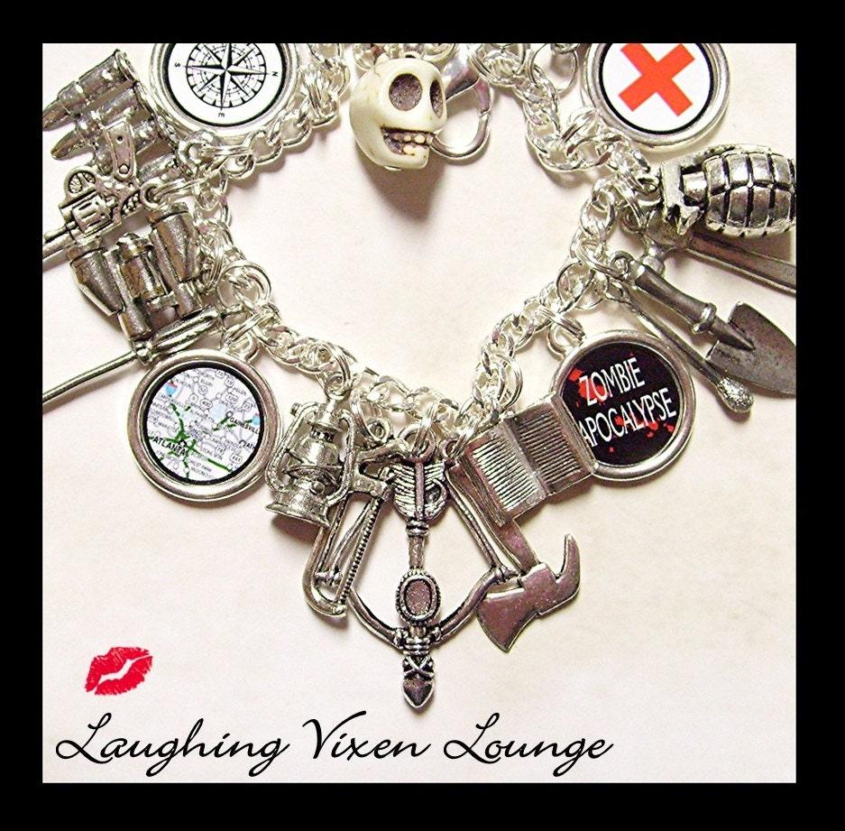zombie bracelet zombie jewelry zombie by laughingvixenlounge