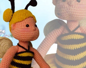 22) Dotje's Bumblebee Outfit