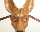 Kangaroo Leather Mask READY TO SHIP