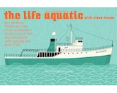 The Life Aquatic with Steve Zissou movie poster in various sizes