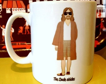 The Big Lebowski 'The Dude' drawing illustration mug