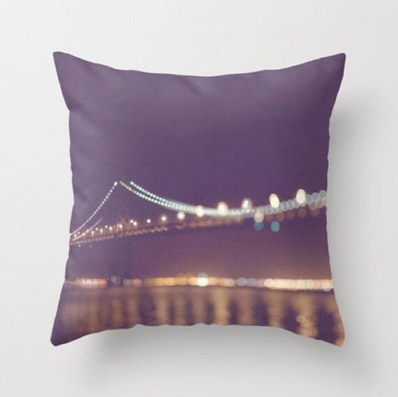 Decorative Pillows San Francisco : home decor throw pillow cover San Francisco purple plum