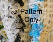 Super Simple Ruffle Scarf Crochet Pattern
