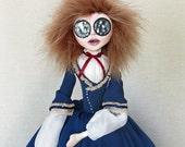 Charlotte Bronte - Historical Fantasy Art Doll