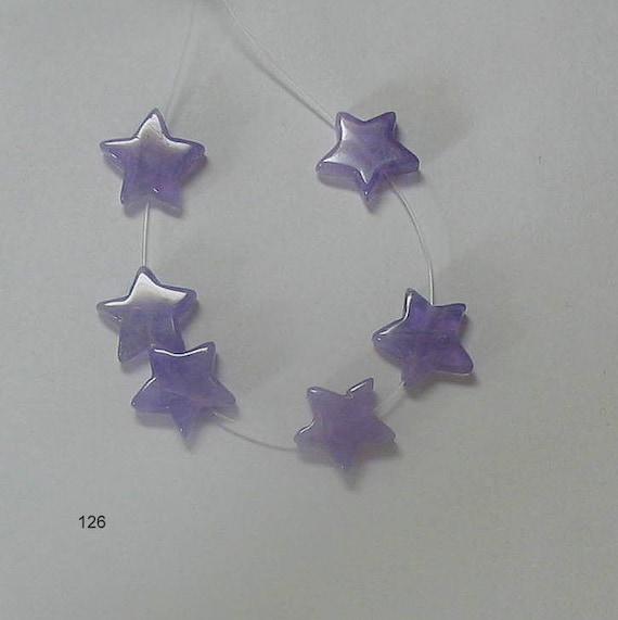Amethyst stars