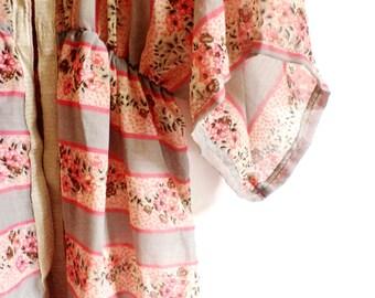 romantic suit jacket handmade - sz. S/M