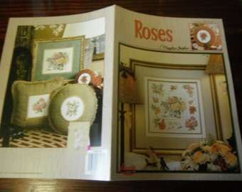Marjolein Bastin Counted Cross Stitch Pattern Roses Leisure Arts 3279 Counted Cross Stitch Leaflet