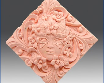 2D Silicone Soap Mold - Muse Tile