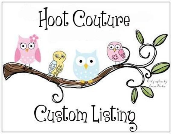 Custom listing for ThoughtofYouFabricAc
