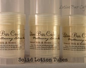 Solid Lotion Tube -Oatmeal Milk and Honey