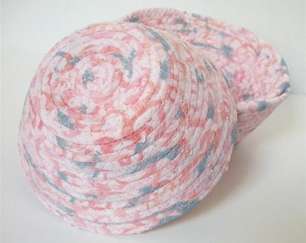 Small Pale Pink (and Blue) Bowl