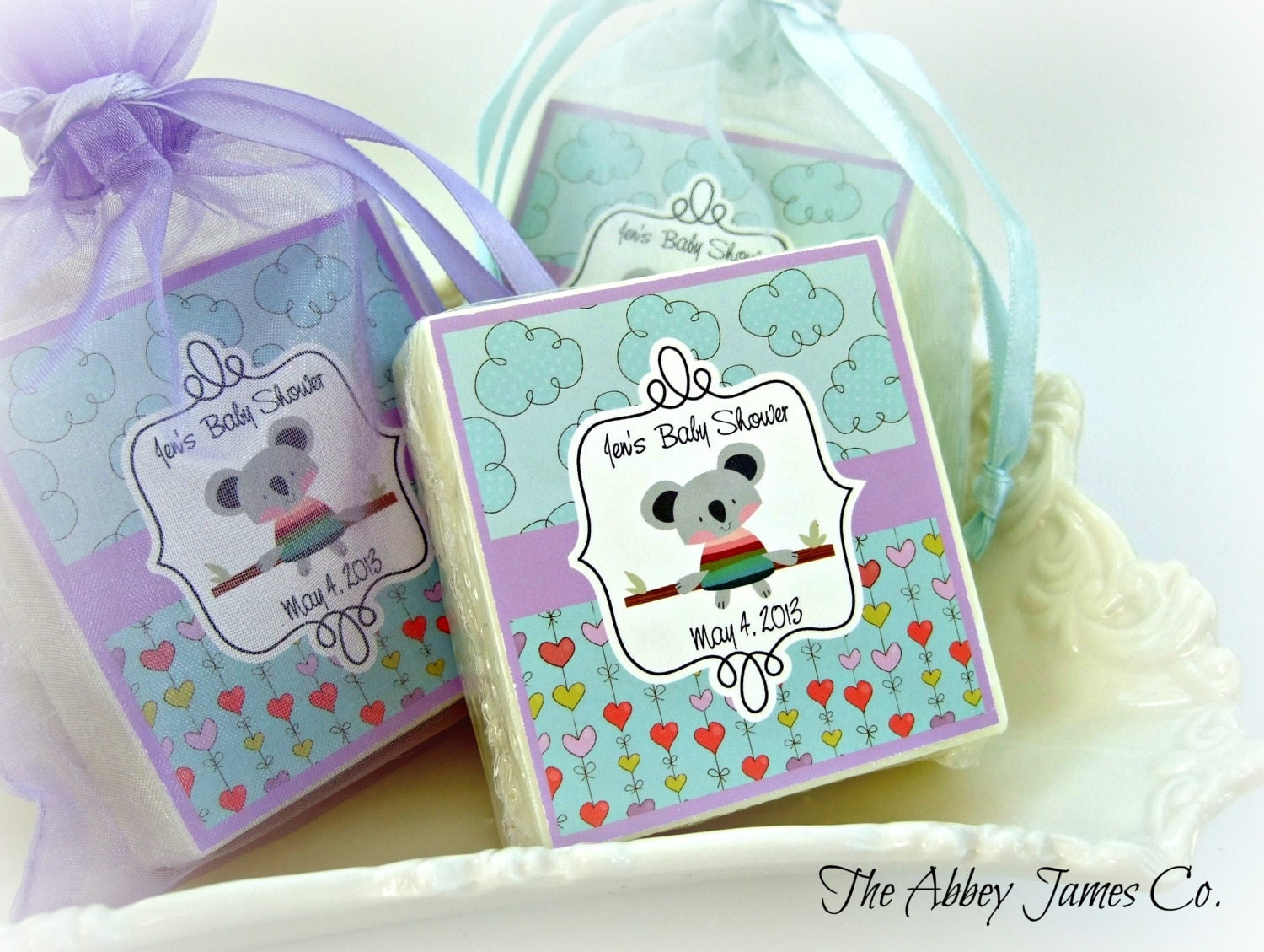 baby boy shower favors koala bear baby shower favors set of