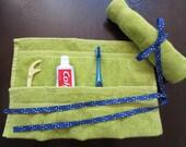 Travel Toothbrush Holder - Green
