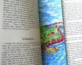 Dog Running On The Beach - Bookmark