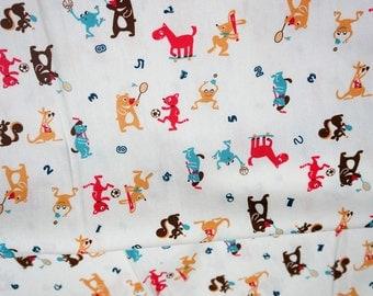 Animal Fabric  japanese fabric half meter