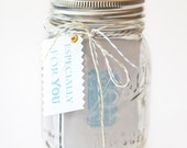 Inspiration Jar - 31 Days of Uplifting Quotes in Blue and Green