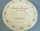 Vintae COMPACT refill  1940 -'50's Cashmere Bouquet Rachel No 1  Shade USA mint Face Powder