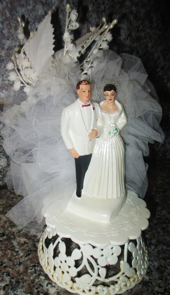 wedding cake toppers central coast vintage 1950s wedding cake topper coast novelty plastic 26436