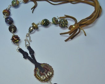 Fit For a Cowgirl as seen in Bead Trends Magazine - A Treasure in Glass