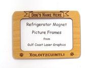 Xoloitzcuintli Dog Magnet Picture Frame