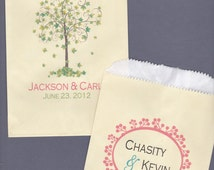 Popular items for personalized candy buffet bags on Etsy