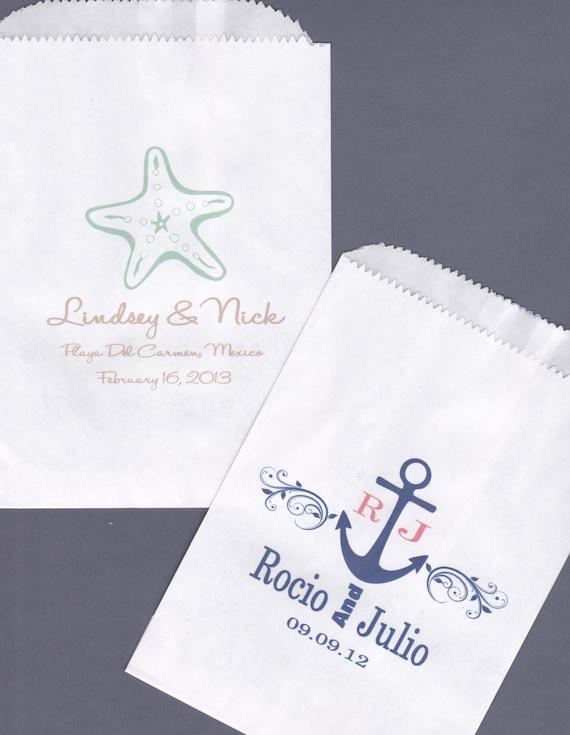 Wedding Candy Buffet Bag Favor Bags Cookie Bar Treat Bags