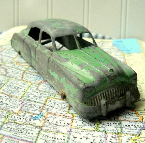Tootsie Toy Car Metal Sedan Die Cast 1940 S 50 S
