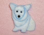 SALE: CORGI Felt Dog Shape for Bead Embroidery, Making Beaded Animals, Beading, Crafting, or Embellishment / Free US Shipping