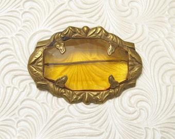 Antique Art Nouveau Brooch Vintage Jewelry P5382