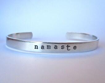 Namaste- Cuff Bracelet
