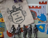 Knight in Shining Armor Party Favor Bag/Stocking Stuffer