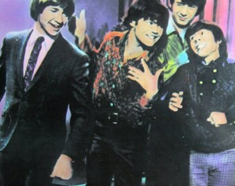 Vintage LP album Then & Now Best of the Monkees music