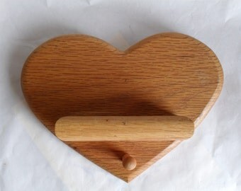 Oak Heart with small Shelf