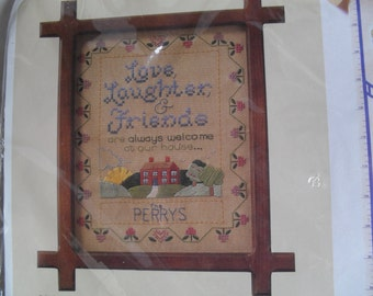 NeedleWork Kit Creative Circle Love Laughter & Friends New in Package
