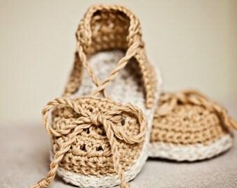 Crochet PATTERN - Summer Sandals