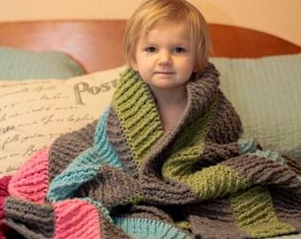 Crochet afghan Pattern - It's A Blanket