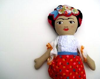 Frida Kahlo Doll, Made to Order