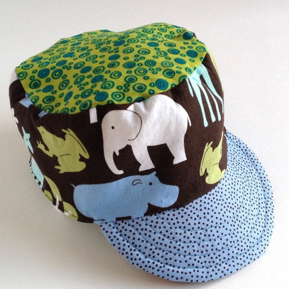 conductor hat template - hat sewing pattern for conductor cap or cadet cap in pdf
