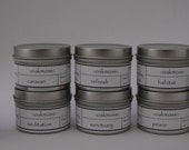 HALF OFF!  Variety Pack - One Of Each - 8 one-ounce tin candles
