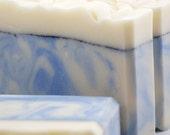 Snowfall Soap Handmade Cold Process, Vegan Friendly