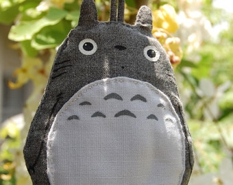 Samsung Galaxy Note 7 6 5 4 3   phone case Totoro light grey