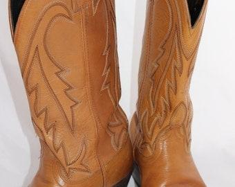 Vintage Laredo Cowboy Boots Size 10 Mens
