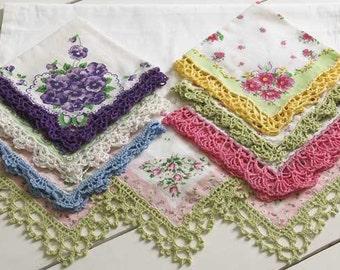 Lace Edgings Crochet Pattern PDF